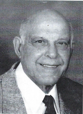 Frank A Nugent black and white portrait.